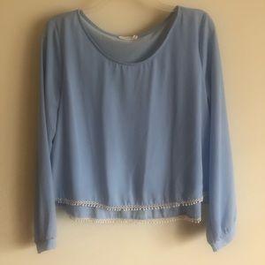 Soft Blue blouse